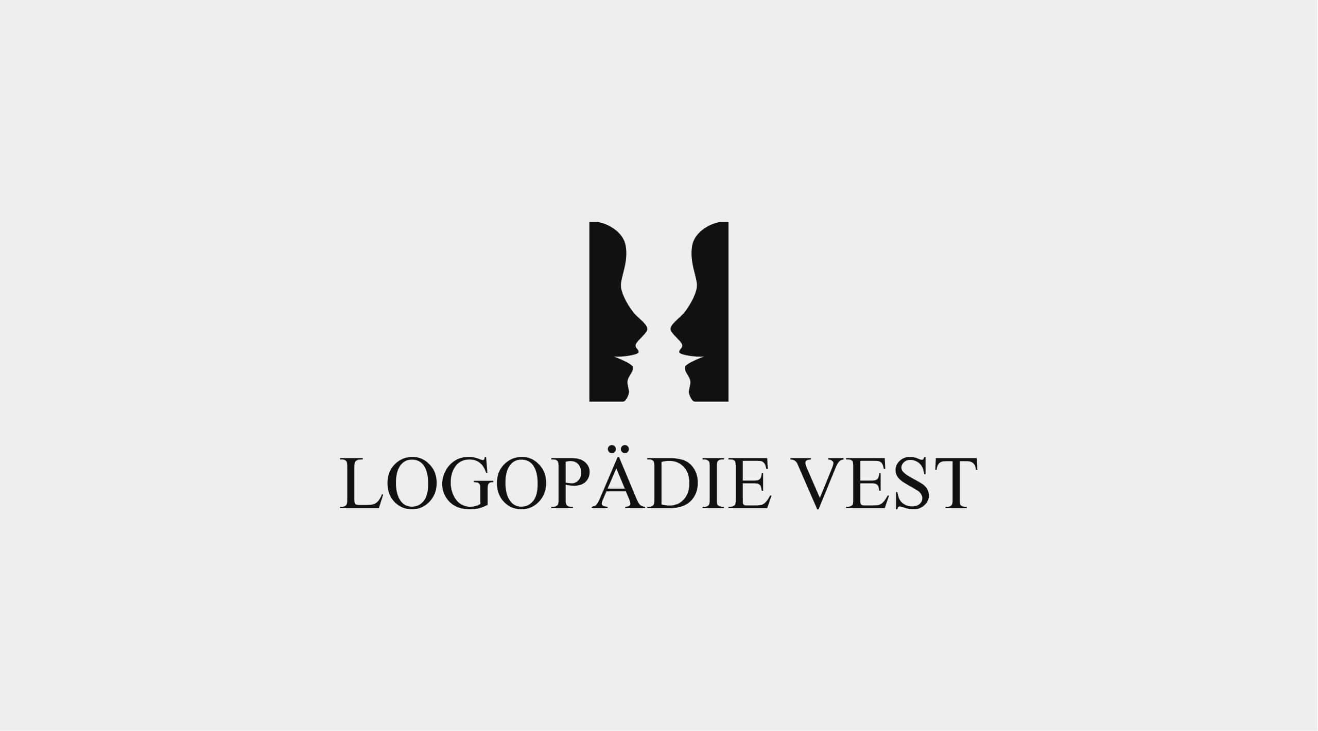 Darstellung des Logopädie Vest Logos.