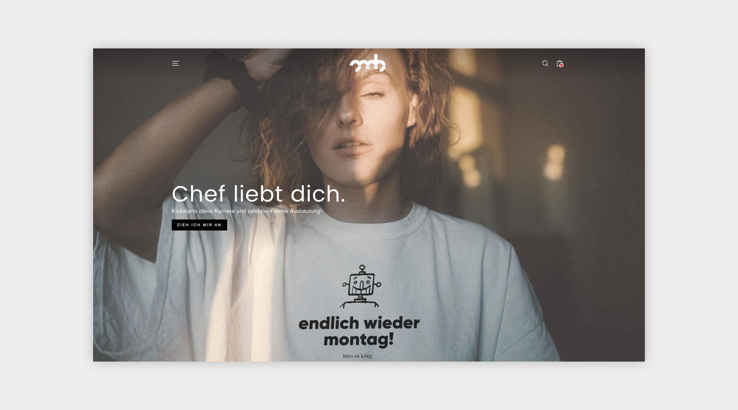 Auszug als Screenshot aus dem Webshop von OMB Oh, my Brand!