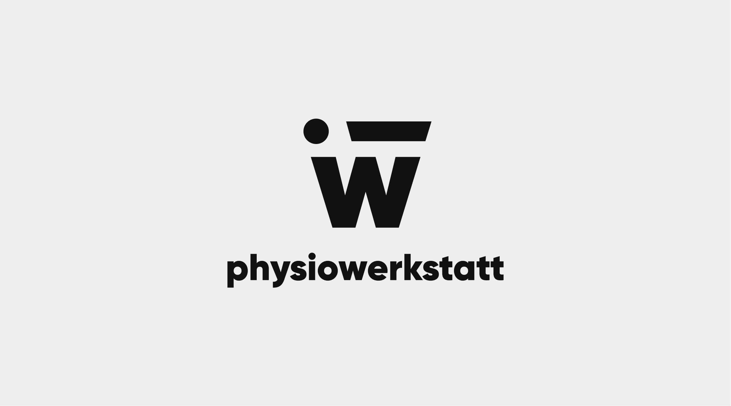 Darstellung des physiowerkstatt Logos.