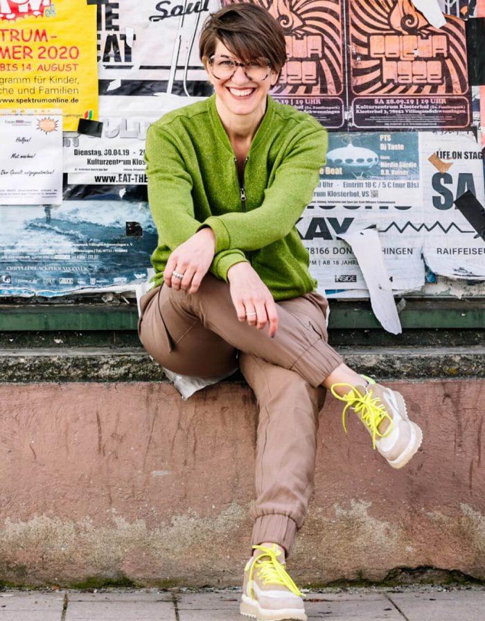 Portrait von Simone von Heimathafen Concept Store.
