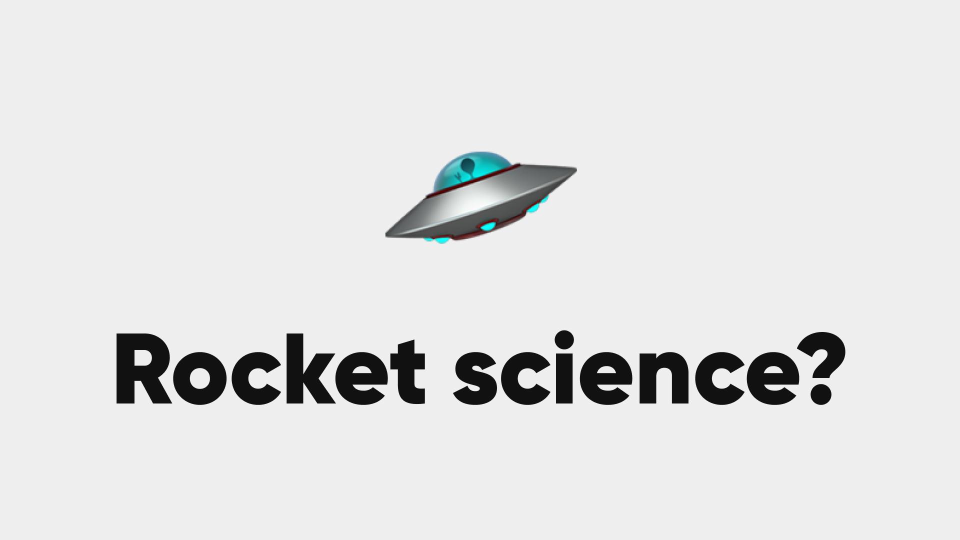 Eine Corporate Website ist keine Rocket Science, einfach gute Planung.